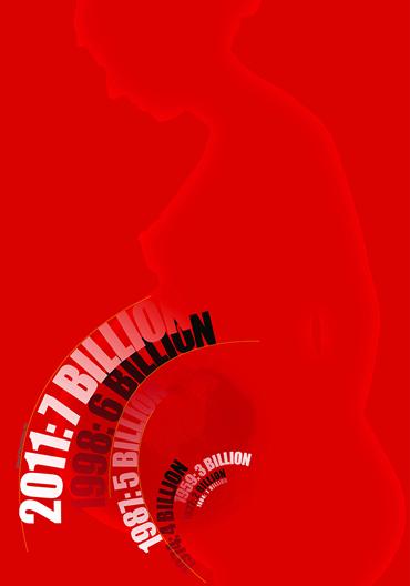 Overpopulation background-light red-2
